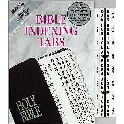 Bible Index Tab Silver Large