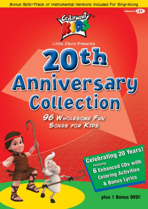 Cedarmont Kids 20th Anniversary Collection