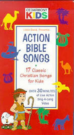 Kids Classics Action Bible Songs Dvd