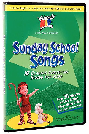 Kids Classics Sunday School Songs DVD