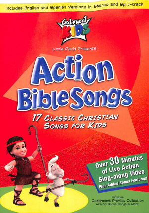 Cedarmont Bible Action Songs DVD