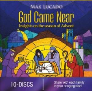 God Came Near - Max Lucado DVD (1 DVD Church Version - Sold in Packs of 10 Only)