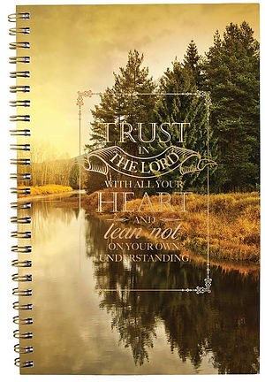 Trust in the Lord Wirebound Notebook