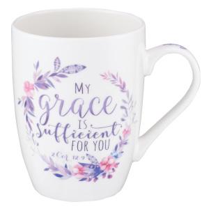 My Grace is Sufficient Coffee Mug - 2 Corinthians 12:9