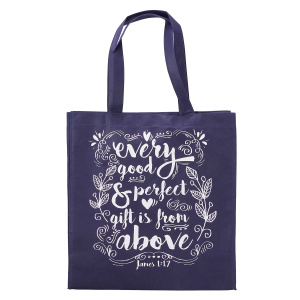 Every Good and Perfect Gift Tote Bag - James 1:17