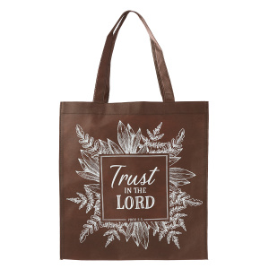 Trust In The Lord Tote Bag - Proverbs 3:5