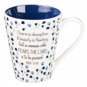 Prayers for a Mom's Heart Coffee Mug - Proverbs 31:30