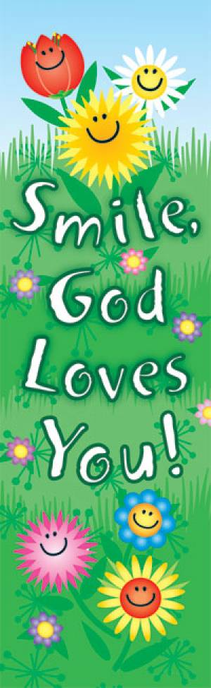Bookmark: Smile God Loves You