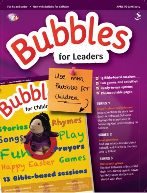 Bubbles for Leaders April June 2015