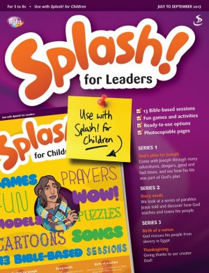 Splash for Leaders July-Sept  2013