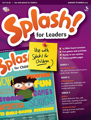 Splash for Leaders January March 2014