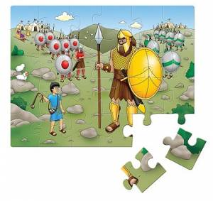 David And Goliath Jigsaw