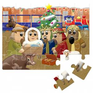 Jigsaw Journey To First Christmas