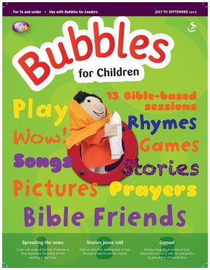 Bubbles for Children July to September 2014
