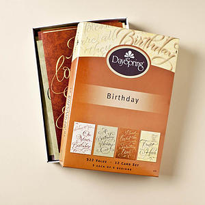 Birthday - Written with Joy - 12 Boxed Cards
