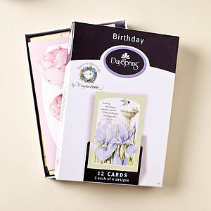 Nature's Blessings - Birthday - 12 Boxed Cards