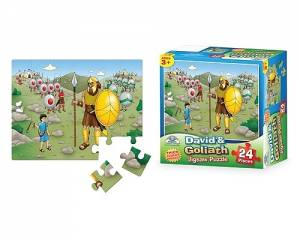 David And Goliath Jigsaw Puzzle