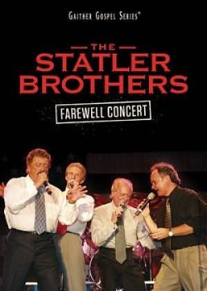 The Statler Brothers Farewell Concert DVD (Region 1 only)
