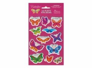 Puffy Stickers Butterflies