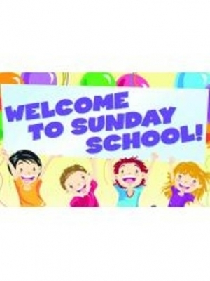 Welcome To Sunday School Postcards - Pack of 25