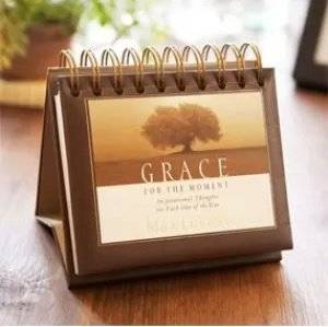 Max Lucado Grace For The Moment Daybrightener - Perpetual Calendar