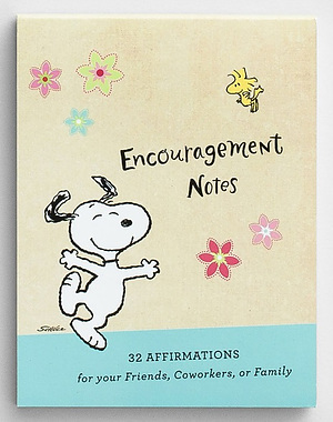 Peanuts - Affirmation Note Cards