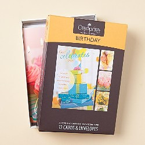 Sweet Birthday Cards Box of 12