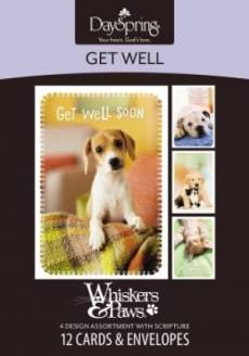 BOXED CARD GW WHISKERS & PAWS