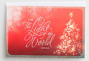 Light of the World Christmas Cards - Box of 18