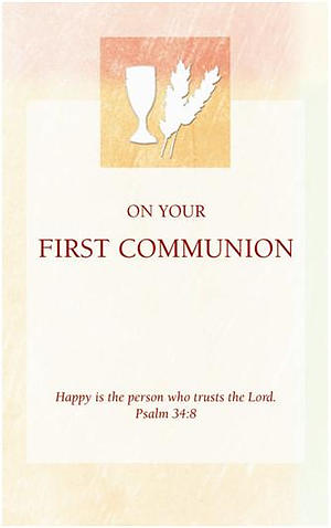 First Communion Card - Pack of 10