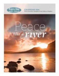 Every Day with Jesus Wall Calendar 2014: Peace Like a River