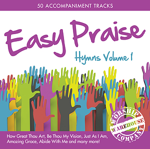 Easy Praise Hymns Volume 1 Double CD
