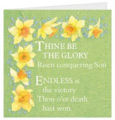 Thine Be The Glory Easter Cards - Pack of 5