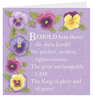Behold Him There! Easter Cards - Pack of 5