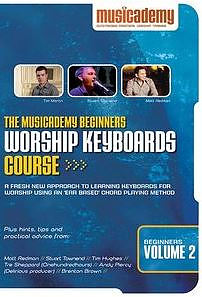 Beginners Worship Keyboard Course Vol. 2 DVD