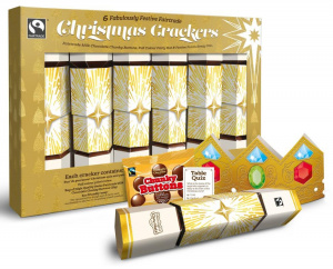 Meaningful Chocolate Christmas Crackers