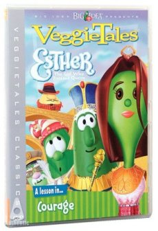 Esther, the Girl who Became Queen VeggieTales DVD