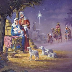 Traditional Nativity Cards Pack of 18
