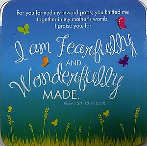 Fearfully and Wonderfully Made Coaster
