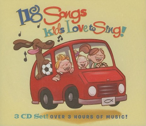118 Songs Kids Love To Sing : 3 CD Set