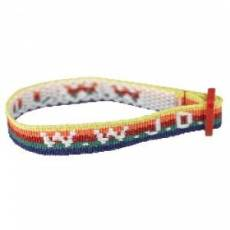 Wristband - Multi-Colour, W.W.J.D.- Single