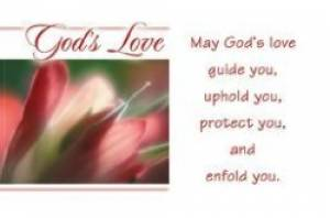 """God's Love"" Pass-Around Cards"