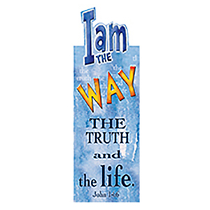I am the Way (Blue) - Magnetic Bookmark