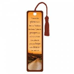 """Jeremiah 29:11"" Tassle Bookmark"