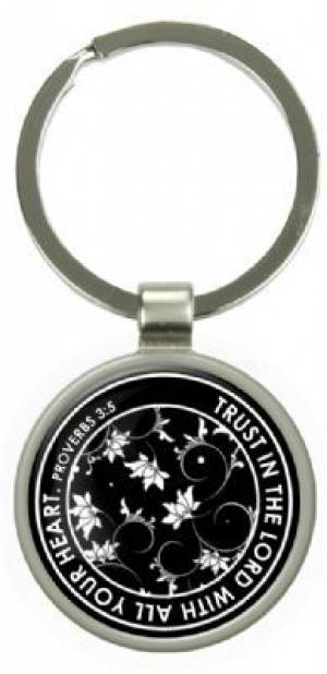 Trust in the Lord - Epoxy Keyring
