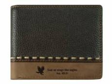 On Wings Like Eagles Leather Wallet