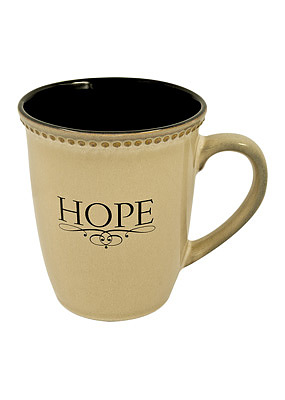 Hope - Grey 420ml Mug