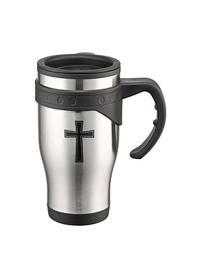 Cross Stainless Steel Mug