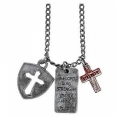 The Lord is my Strength - Dog Tag