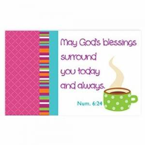 """""""God's blessings"""" Pass-Around Cards"""
